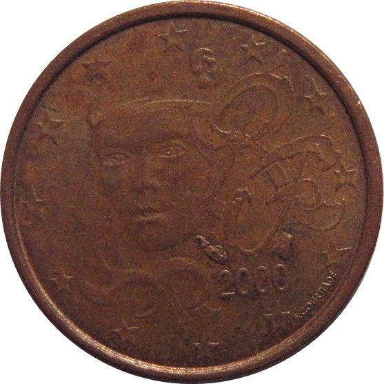 2000 France 1 Euro #2