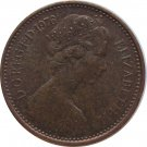 1976 Great Britain New Half Penny