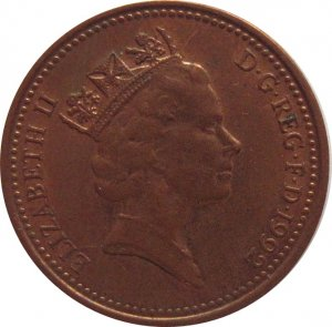 1992 Great Britain New  Penny