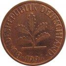 1994 D Germany 2 Pfennig