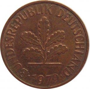 1979 G Germany 2 Pfennig