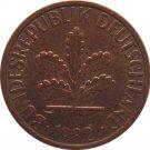 1982 D Germany 1 Pfennig
