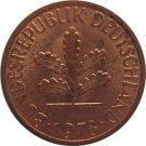 1978 D Germany 1 Pfennig