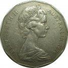 1976 Australia  50 Cents