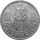 1964 Austria 10 Groschen