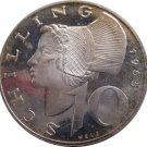 SILVER 1965 Austria 10 Shilling (36)