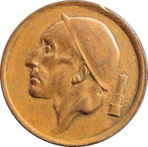 1953 Belguim 20 Centimes #2