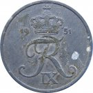 1951 Denmark 5 Ore