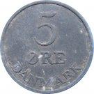 1958 Denmark 5 Ore