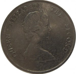 1987 East Caribbean State 10 Cent