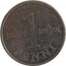 1973 Finland 1 Penni