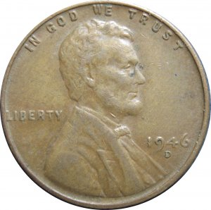 1946 D Lincoln Cent