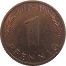 1993 G Germany 1 Pfennig