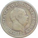 1856 A  Prussia Germany Groschen (40) SILVER
