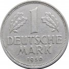 1950 J Germany 1 Mark #2
