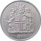 Iceland 1969 10 Kronur