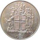 Iceland 1971 1 Krona #2