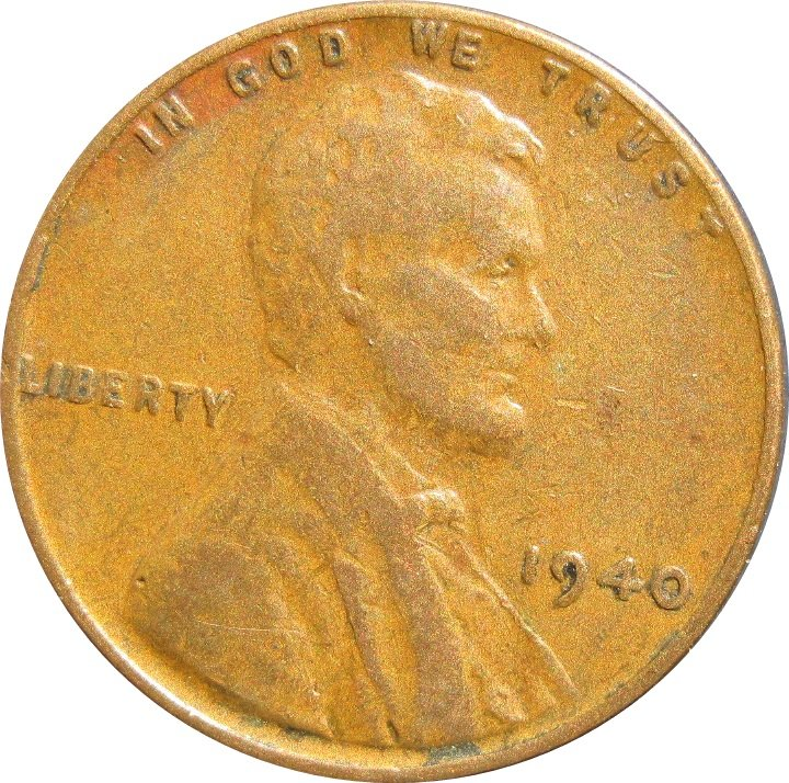 1940 Lincoln Cent