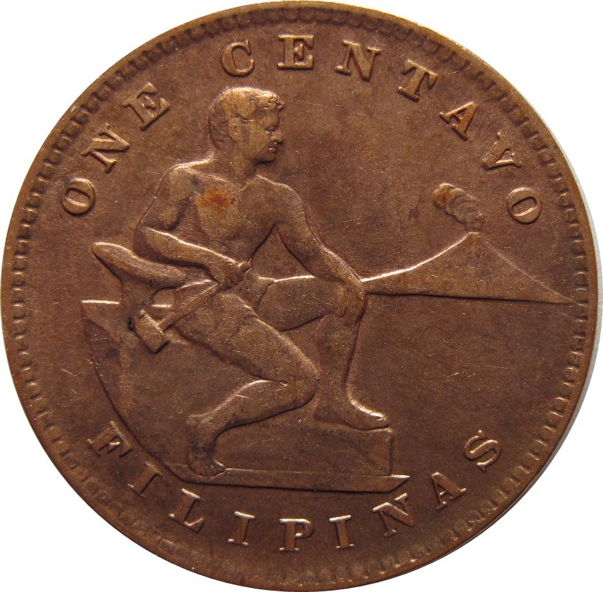1944 S Philippine One Centavo