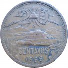 1955 20 Centavos