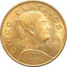 1968 Mexico 5 Centavos #2