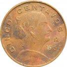 1964 Mexico 5 Centavos