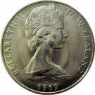 New Zealand, 1969 One Dollar
