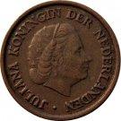 1952 Netherlands 5 Cents