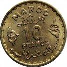 Morocco 1951 10 Francs