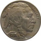 1938 D Buffalo Nickel