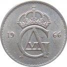 1966 Sweden 25 ORE #2