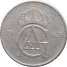 1963 Sweden 25 ORE