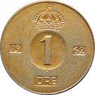 1962 Sweden 1 Ore