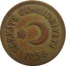 Turkey 1956 25 Kurus #2