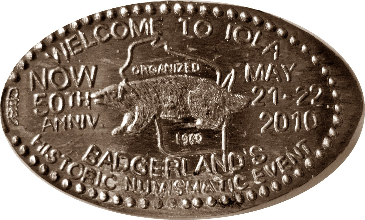 2010 Iola 50th Anniversary May 21-22  Copper Elongated