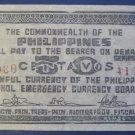 PHILIPPINES EMERGENCY ISSUE 1942 50 CENTAVOS 980