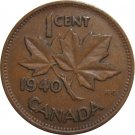 1940 Canadian Cent