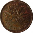 1962 Canadian Cent Missing M?