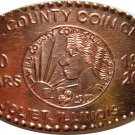 Will County Coin Club Elongated 2009