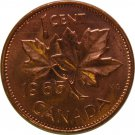 1965 Canadian Cent