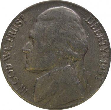 1953 D Jefferson Nickel (Whitman)