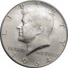 1964  D Kennedy Half 90% Silver (dan-20)