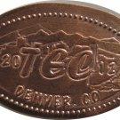 2012 TEC Denver Colorado Elongated Cent