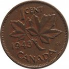 1943 Canadian Cent