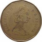 1987 Canadian Dollar Loonie