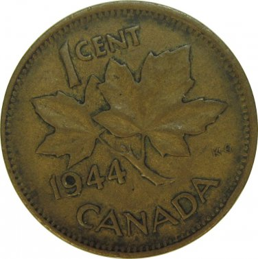 1944 Canadian Cent