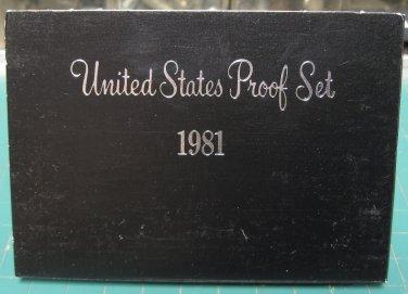 1981 S US Proof Set