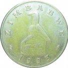 1993 $1.00 Zimbabwe KM#6