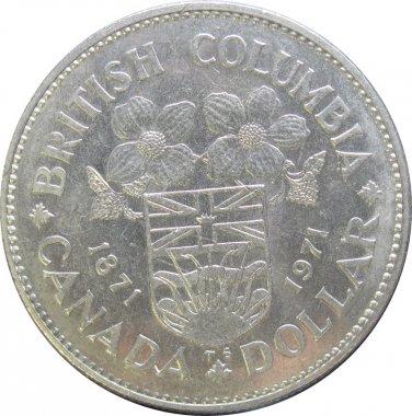 1971 Canadian Dollar British Columbia