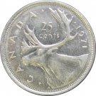 1971 Canadian Quarter